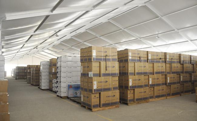 工业篷房凭借这用途得到了消费者的认可