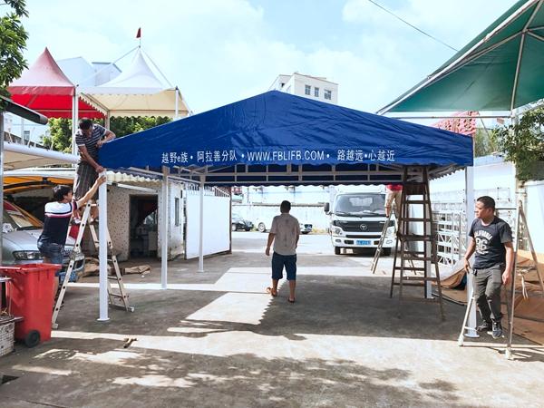 深圳拆装篷